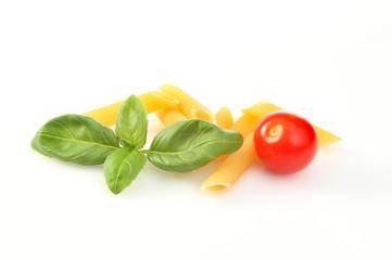Basil pasta tomato