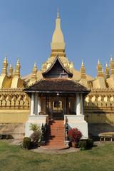 Stupa Pha That Luang a Ventiane capitale del Laos