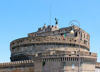 Mausoleum of Hadrian in Rome