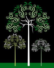 Three Tribal Tree