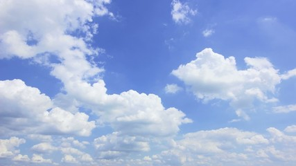 Wall Mural - 流れる雲