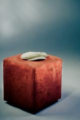 Cap on a stool