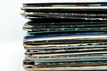 Old coloured vinyls