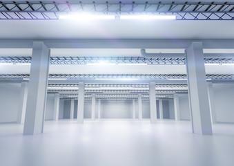 Clean Industrial Warehouse