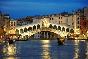 Obraz Rialto Bridge Venice - fototapety do salonu