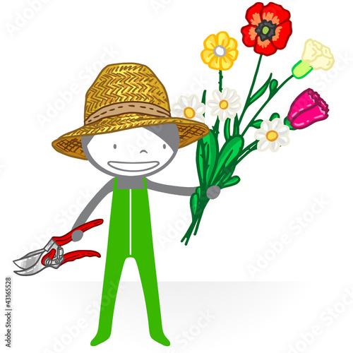 Jardinier 1 fichier vectoriel libre de droits sur la for Jardinier tarif