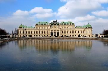 Keuken foto achterwand Wenen Vienna belvedere