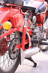 Old italian motorcycle