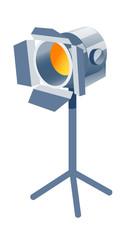 vector icon spot light
