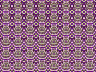 Tuinposter Psychedelic optik effekt 1