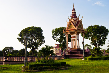 Independence Square #1, Sihanoukville, Cambodia