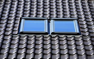Obraz Okna dachowe - fototapety do salonu