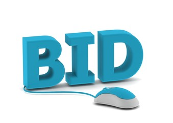 Bid and computer mouse
