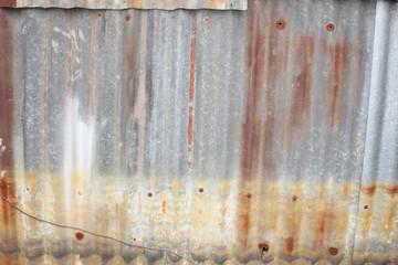 Rusty wall, Thailand.