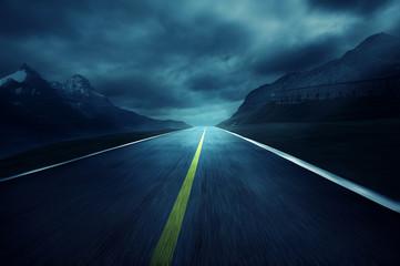 Fototapete - Road