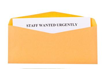 stuff wanted urgently