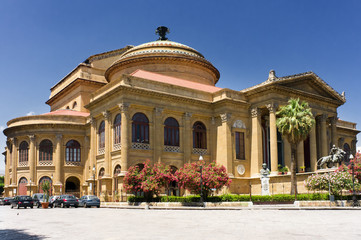 Theater Massimo of Palermo, Sicily, Italy