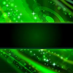 rahmen abstraktes grün