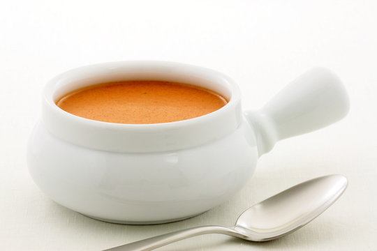 delicious french lobster bisque