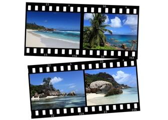 souvenirs des seychelles sur pellicule
