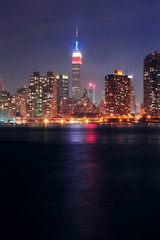 Wall Mural - Empire State Building at night
