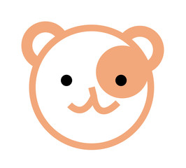 vector icon bear