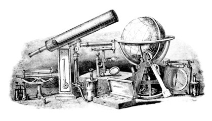 Allegory : Technology & Sciences - 19th century