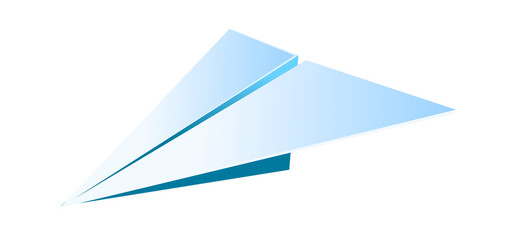 vector icon paper airplane