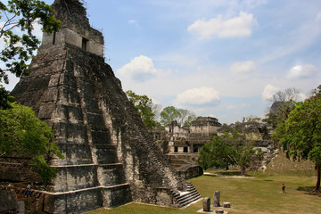 Ruins of Tikal, Guatemala, Central-America