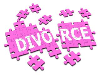 3d Jigsaw puzzle divorce