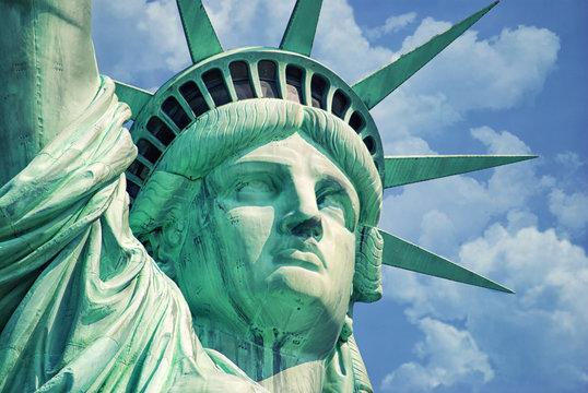 Statue Of Liberty-Manhattan-Liberty Island-NY