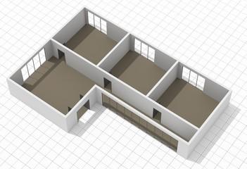 3D-Grundriss