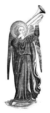 Angel Trumpet-Player - 15th century