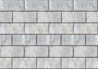 Vector seamless brick wall