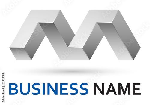"""M Logo 3d """"3d logo d..."""