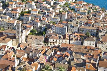 hvar, city centre, croatia