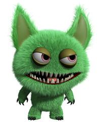 Photo sur Plexiglas Doux monstres 3d monster