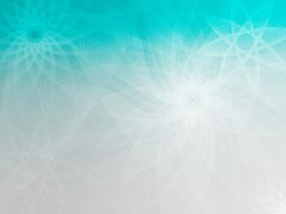 Cyan-Gray mesh flower background FlowerStar CW