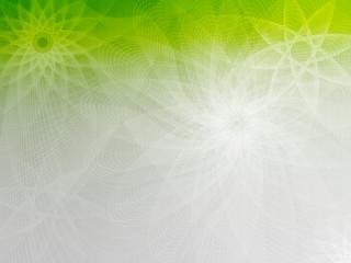 Green-Gray mesh flower background FlowerStar CW