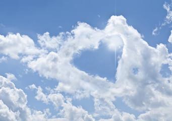 The divine sky, heart