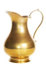 Alte goldene Karaffe