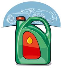 engine automobile oil