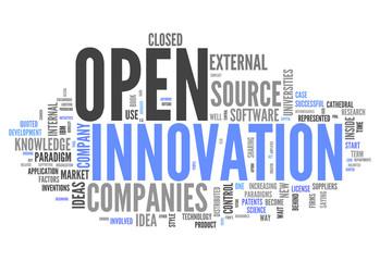 "Word Cloud ""Open Innovation"""