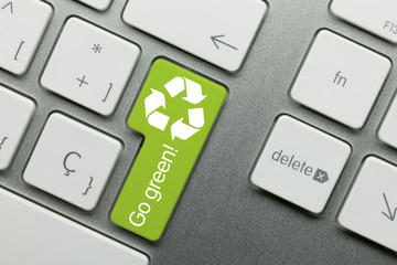 Go green! keyboard