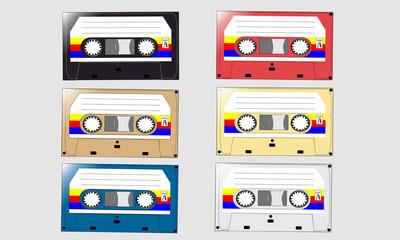 cassette audio vector
