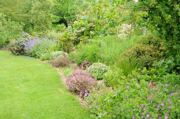 Brittany, le Jardin Lepage in Pleumeur Bodou
