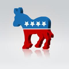 Mule symbol american vote campaign