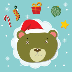 teddy christmas celebration