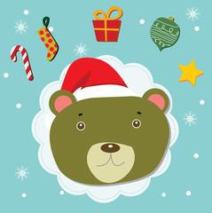 teddy christmas celebration