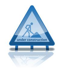 under construction Vektor